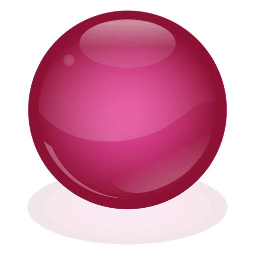 Marble ball png. Red transparent svg vector