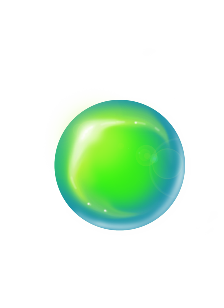 Transparent b marble. Ball by thekiwislayer on