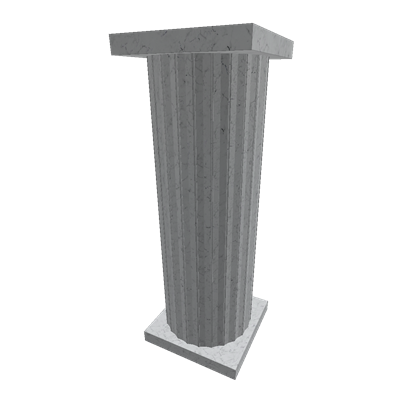 Marble pillar png. White roblox