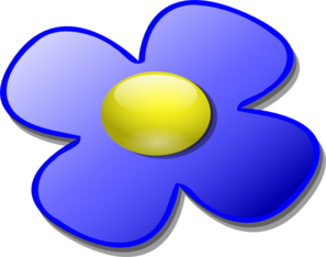 Sphere clipart marble. Blue game flower clip