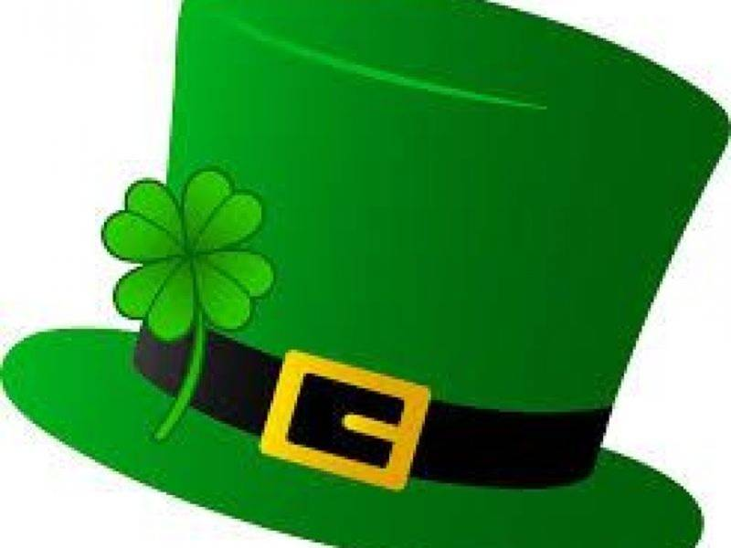 March clipart clover patch. St patrick s day