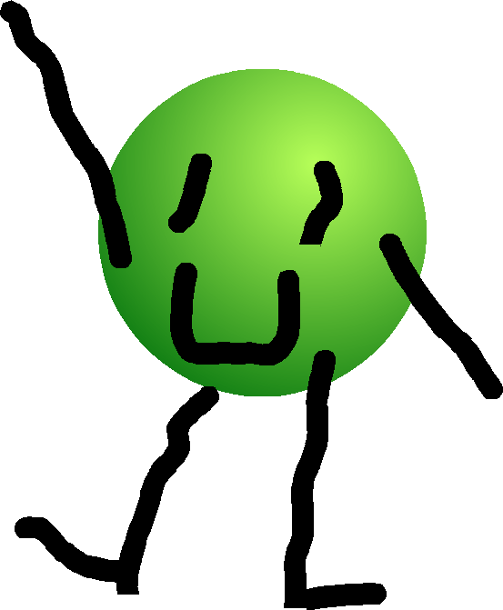 March clipart green object. Image ball png when