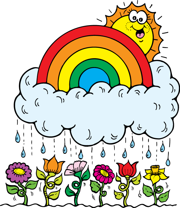 April clipart animated. Weather for kids at