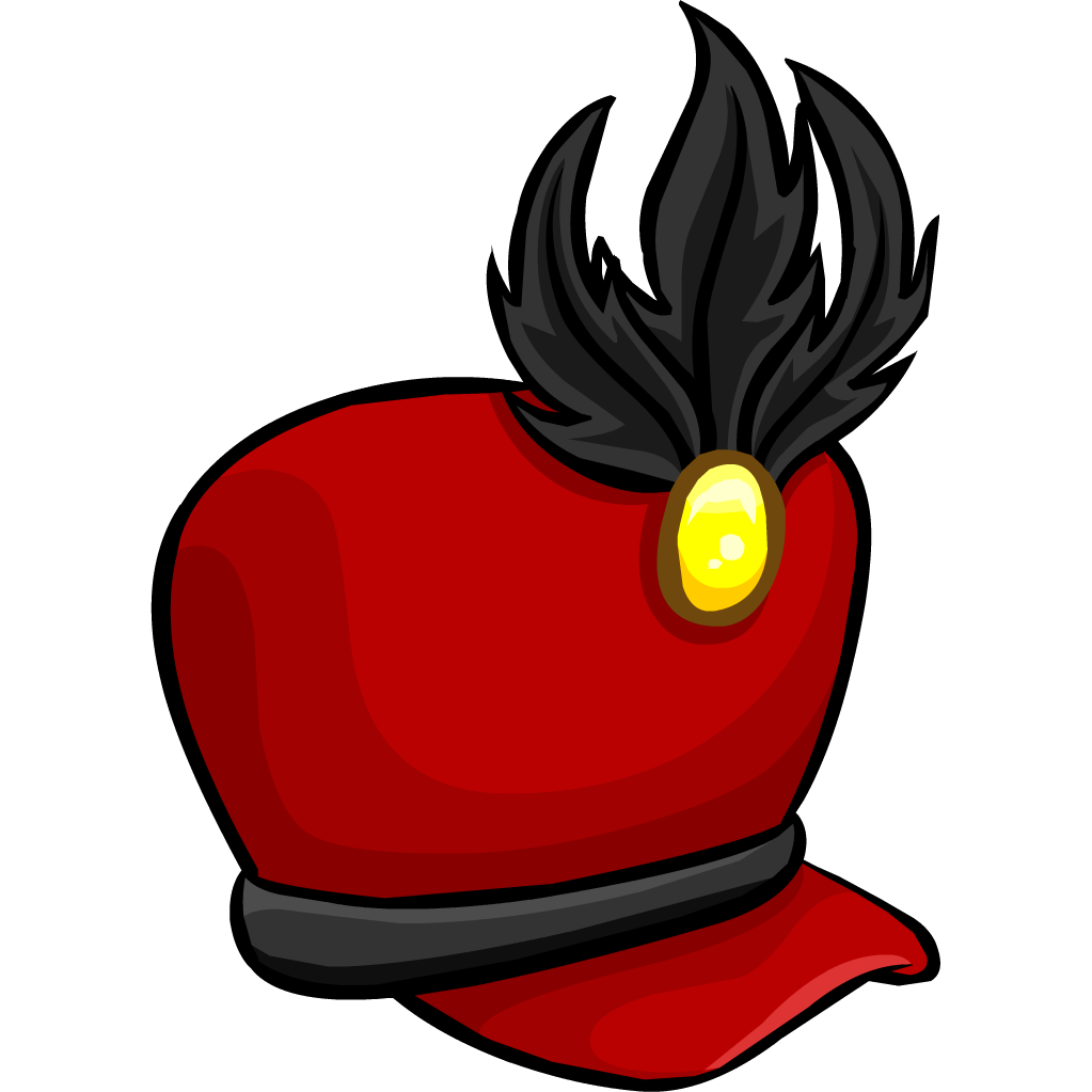 Marching band hat png. Image icon club penguin