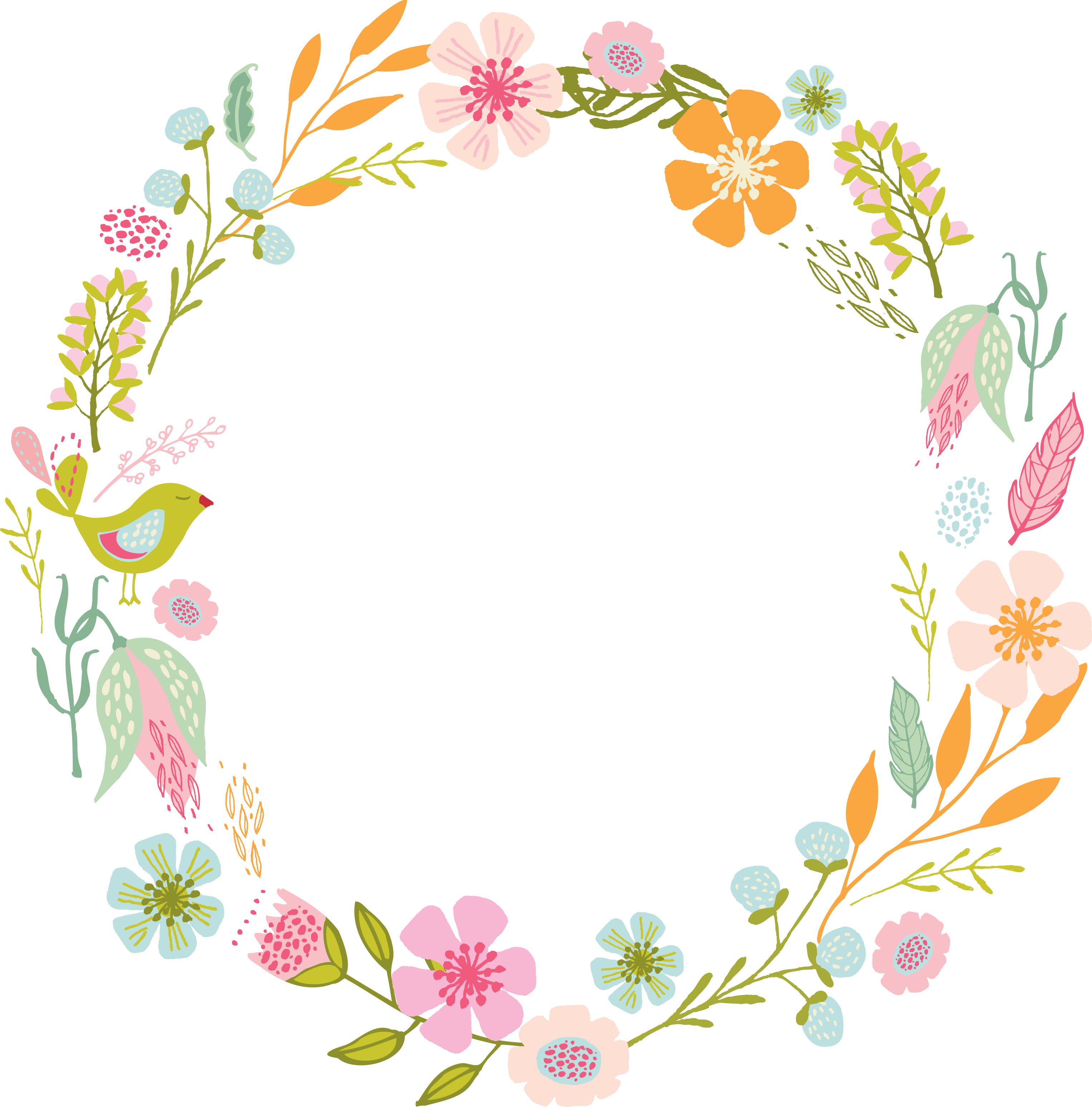 Marcos vector floral. Image result for flores