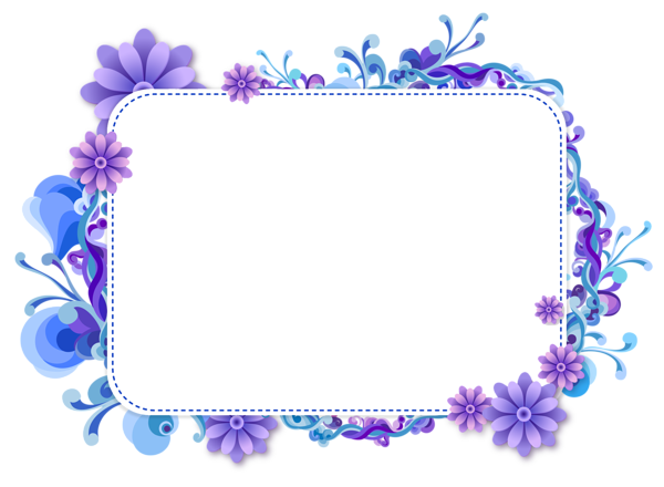 Marcos vector png. Blue and purple frame clip stock