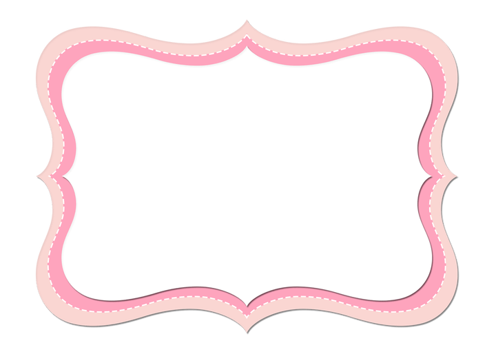 Marco vintage rosa png. Frame flowerxpict co for