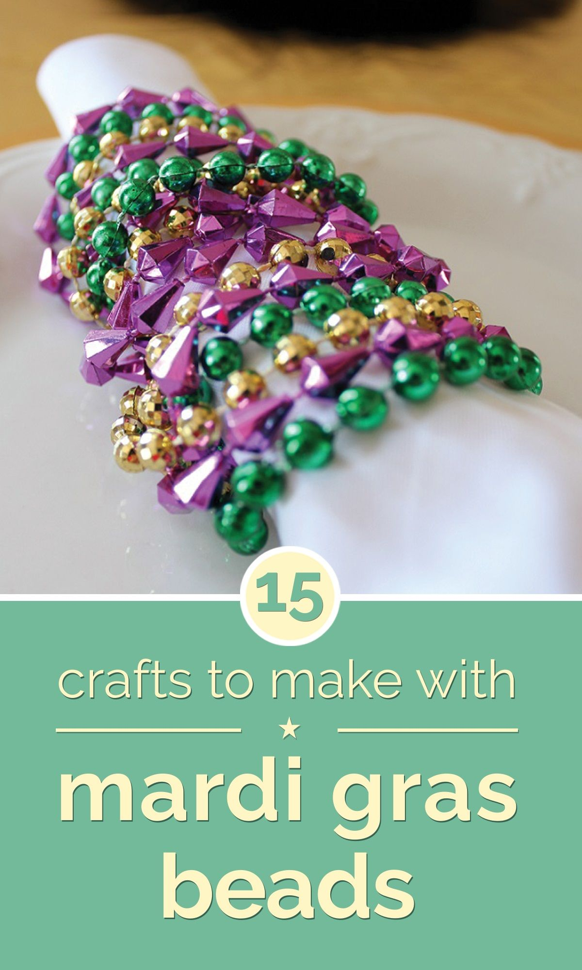 Mardi gras beads clipart kid bead necklace. Crafts to make