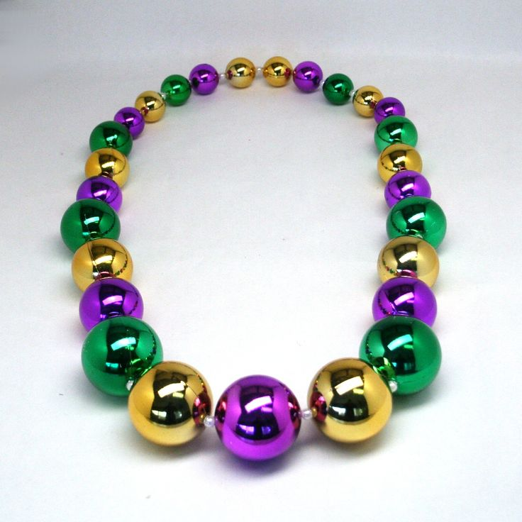 Mardi gras beads clipart kid bead necklace. Best images on
