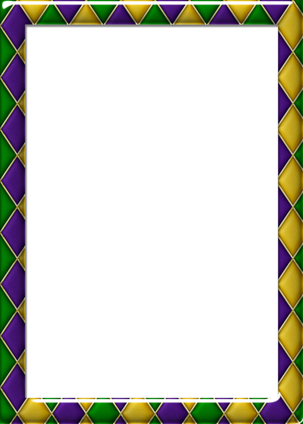 Fancy quarter page borders png. Free x harlequin pattern