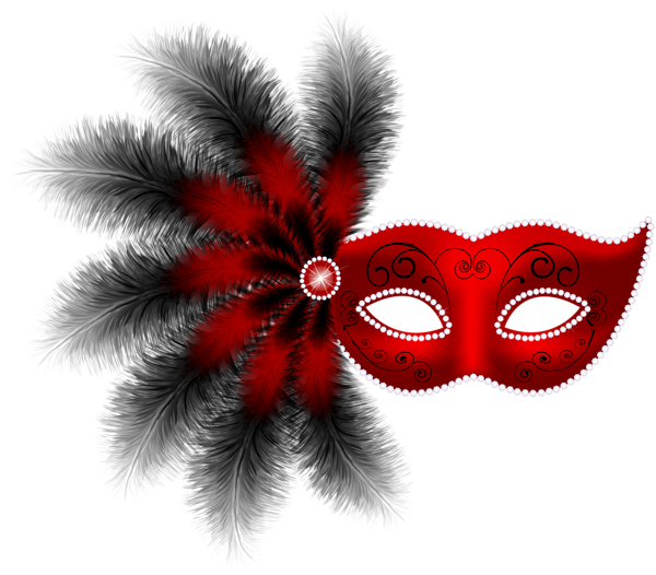 Mardi gras feathers png. Feather carnival mask clip