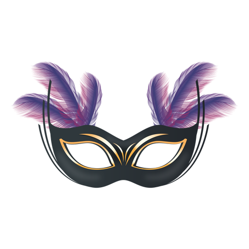 Transparent masks feather. Carnival mask png svg