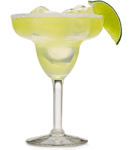 margarita transparent drink mexican
