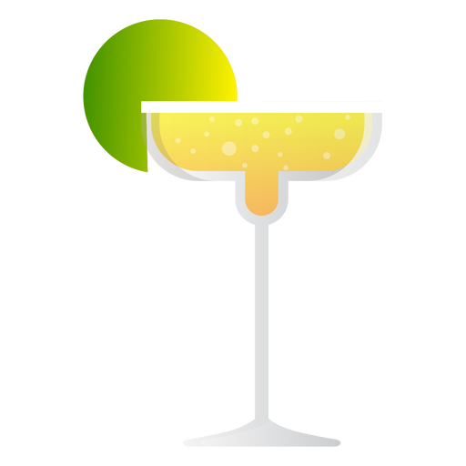 Margarita vector png. Champagne cocktail icon transparent