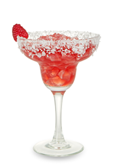 Margarita transparent rose. Rouge drink recipe dekuyper