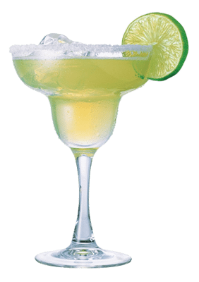 margarita transparent green