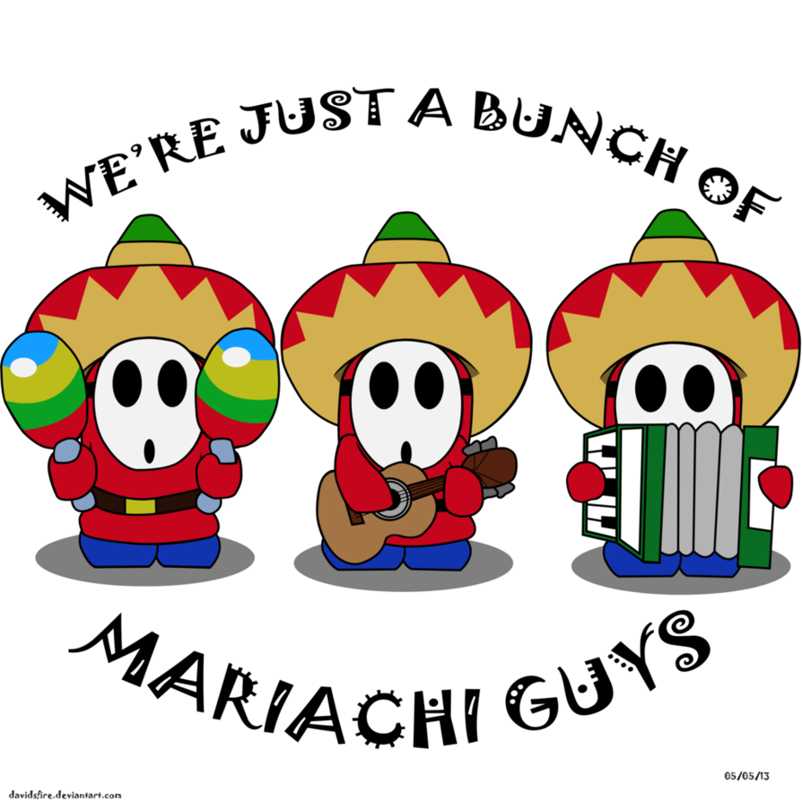Mariachi vector. Guys by davidsfire on
