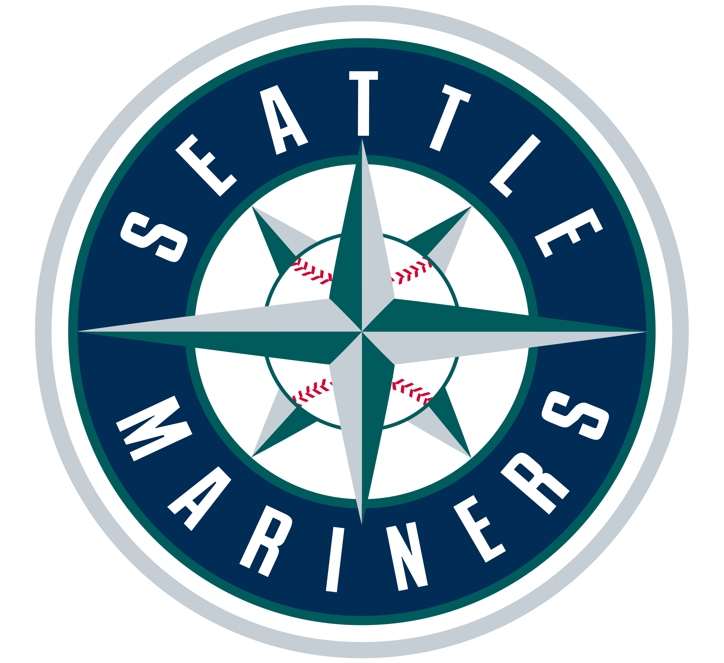 Mariners logo png transparent. Seattle vector clip transparent