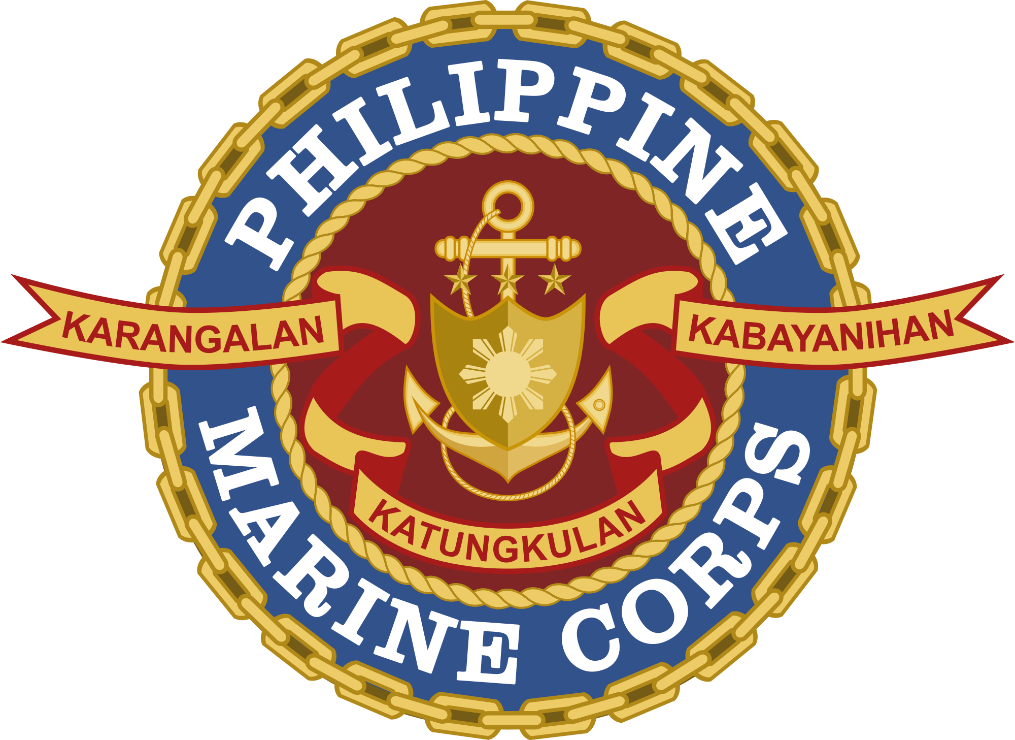 File of the philippine. Marines seal png jpg free stock
