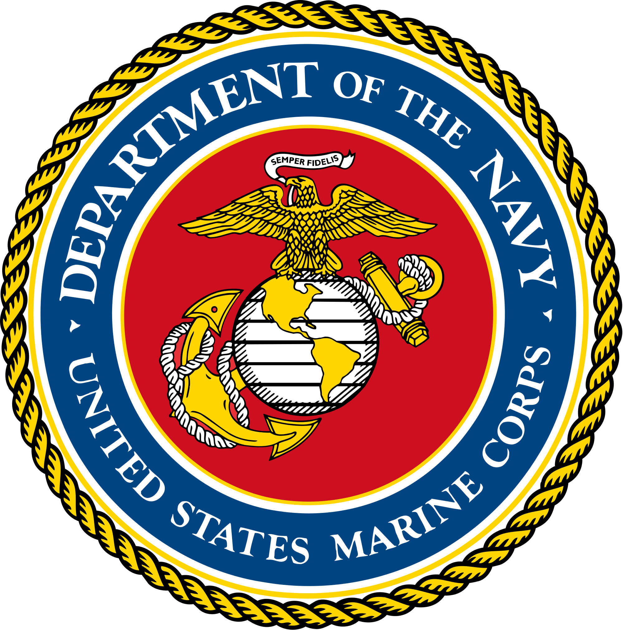 File of the united. Marines seal png jpg royalty free