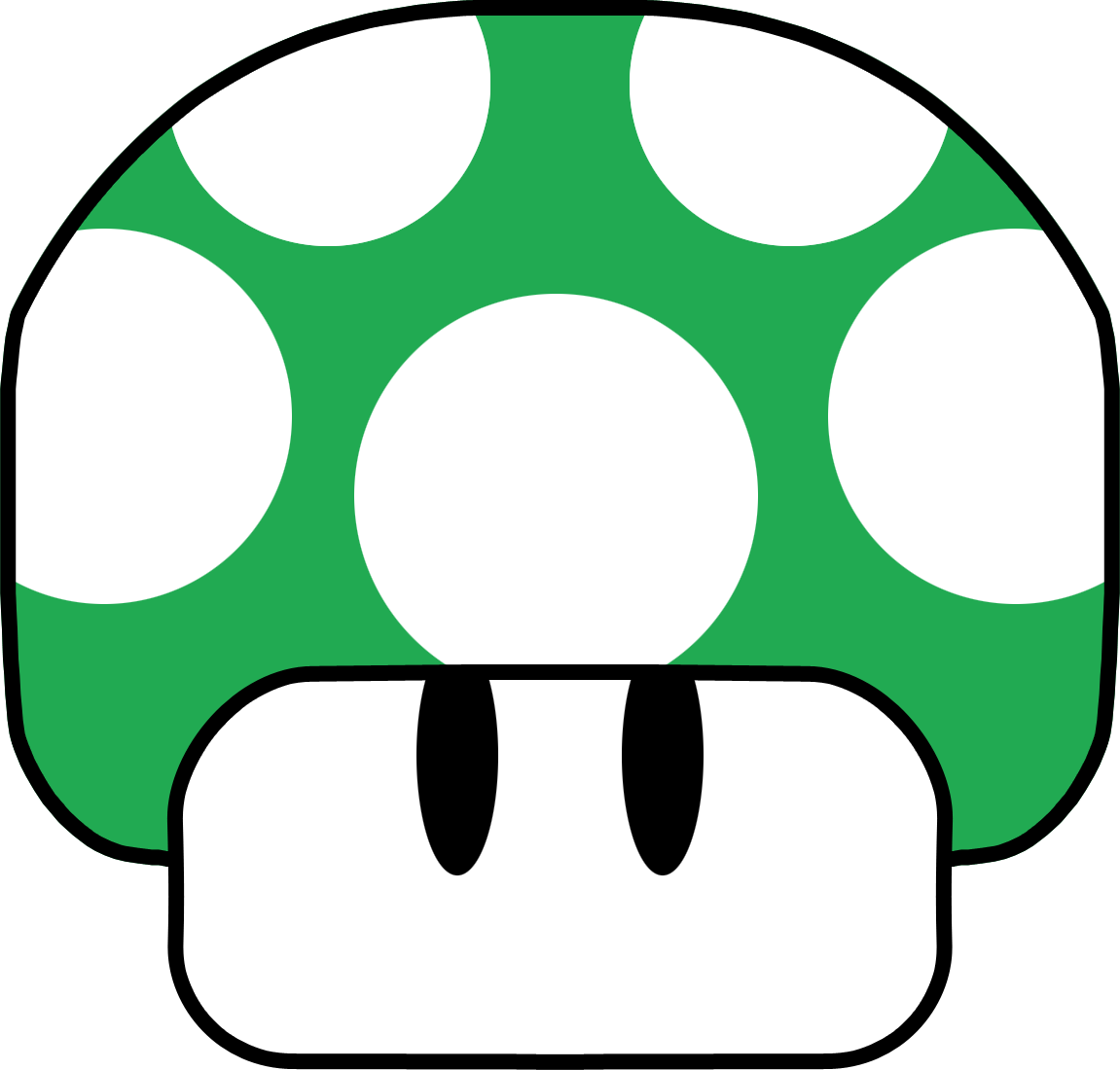 Mario 1 up png. Mushroom by blueamnesiac