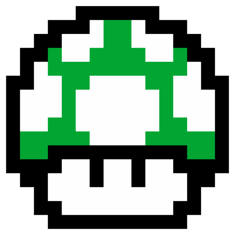 Mario 1 up png. How to add inspired
