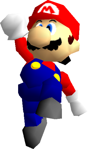 Mario 64 png. Image video games fanon