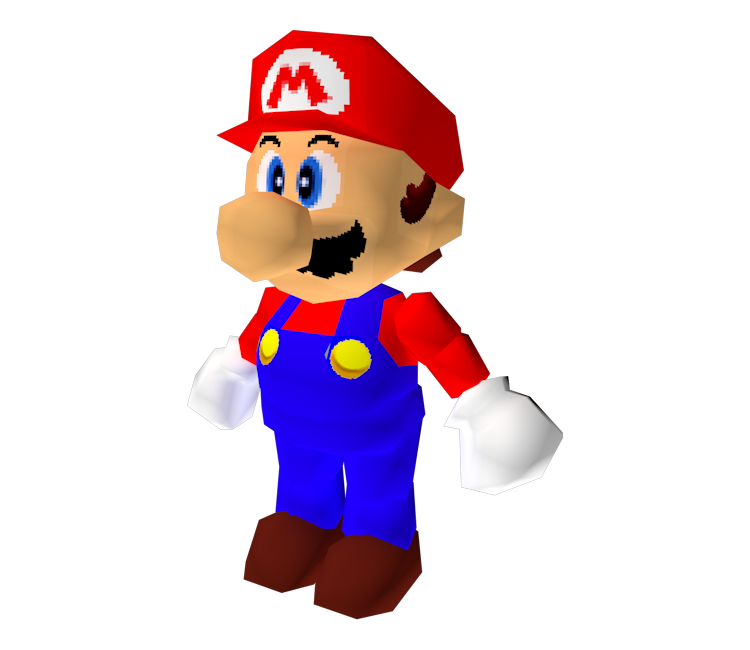 Mario 64 png. Nintendo super the models