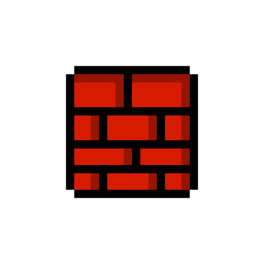 Mario brick png. Super bros hd block