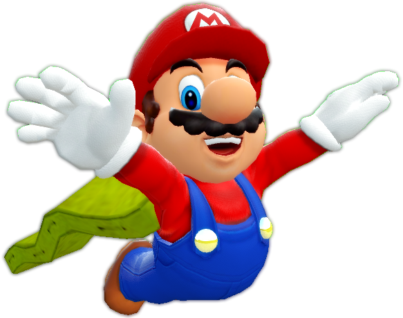 Mario cape png. S flying artwork by