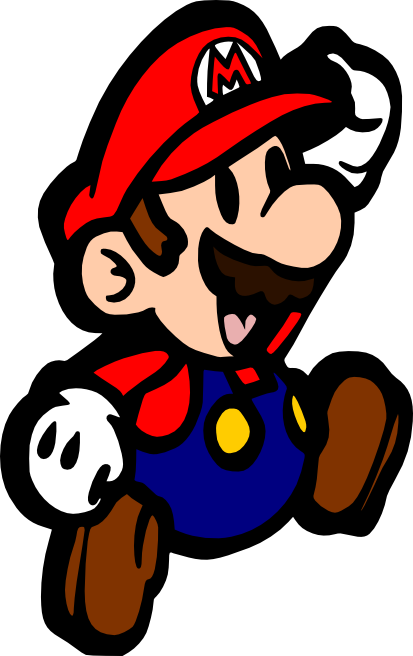 Mario clipart svg. Crafting with meek super