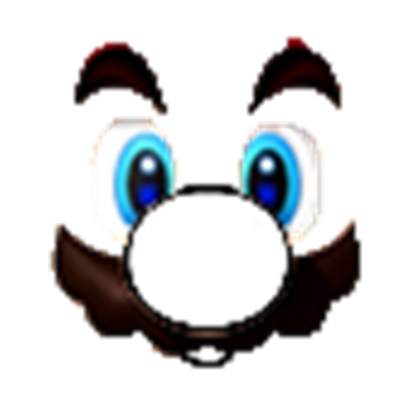 Transparent d roblox face. Mario s marios