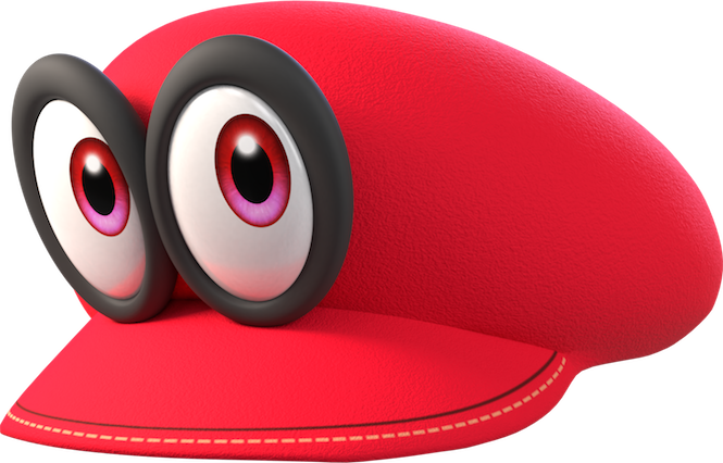 Mario hat png. Cappy can t be