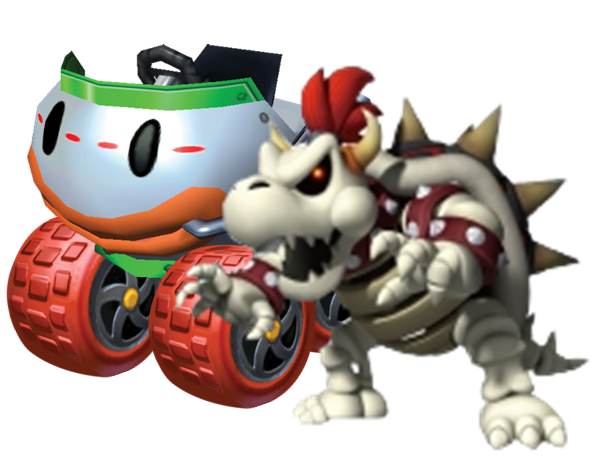 Bowser Kart Transparent Png Clipart Free Download Ywd