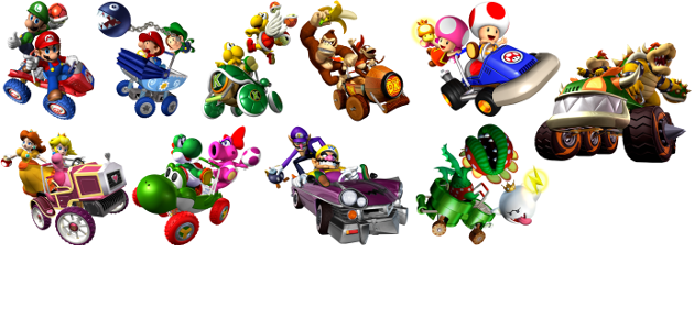 Mario kart double dash png. Blast from the past