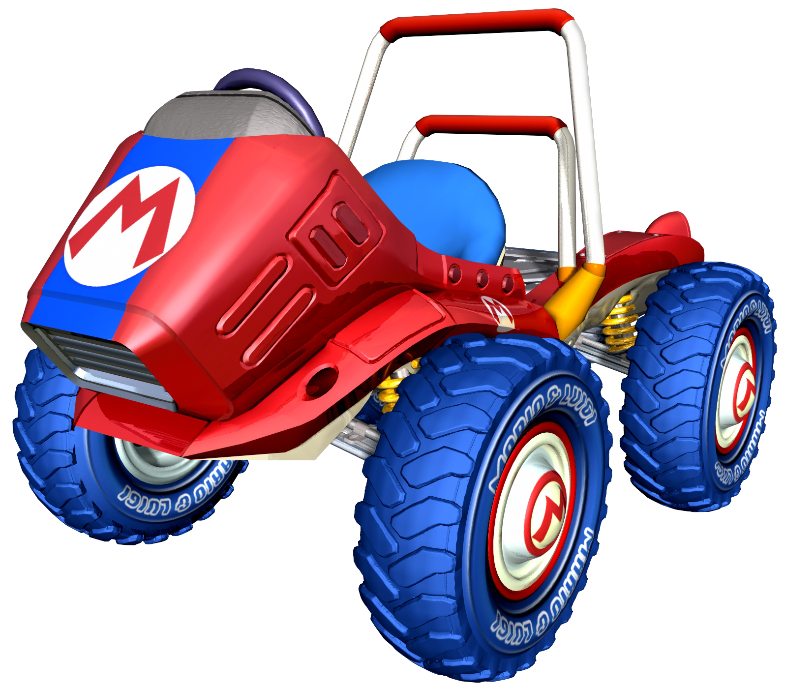 Mario kart double dash png. Image red fire artwork