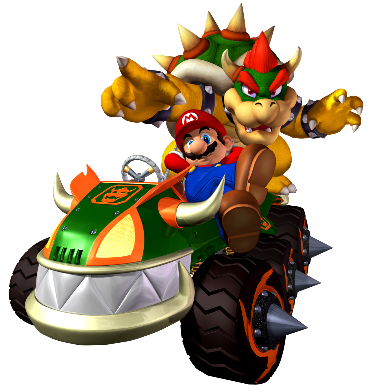 Mario kart double dash png. Push tiny know your