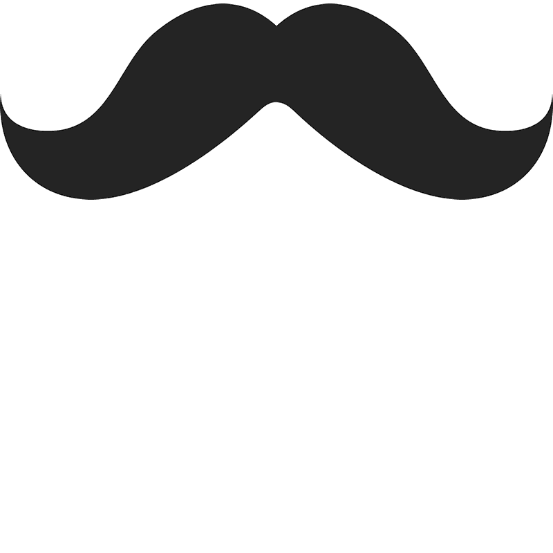 Mario mustache png. The moustache rubber stamp