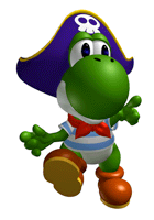 Mario party 2 png. List of stickers yoshi