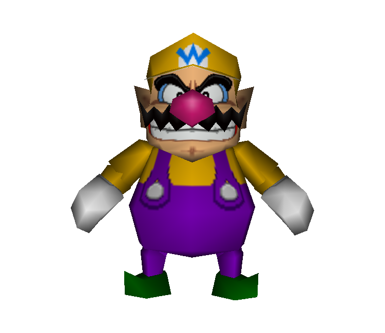 Mario party 2 png. Nintendo wario the models