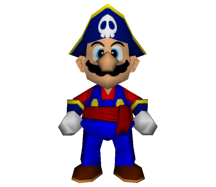 Mario party 2 png. Nintendo pirate land the