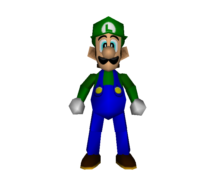 Mario party 2 png. Nintendo luigi the models