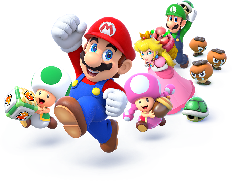 Mario party png. Image star rush group
