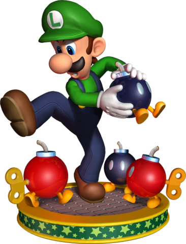 Mario party png. Image px luigi artwork
