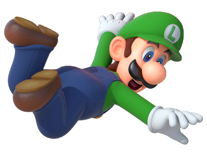 Mario party png. Image luigi artwork finished