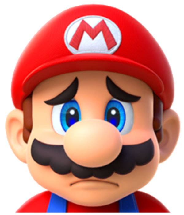 Mario sad png. Mh super know your