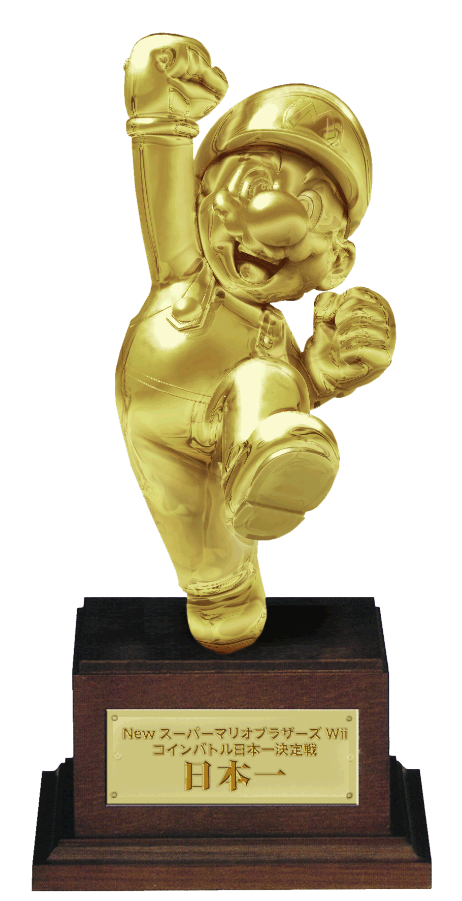 Mario statue png. Photo of gold