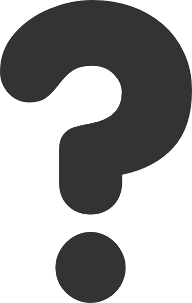 Mark clipart vector. Any question