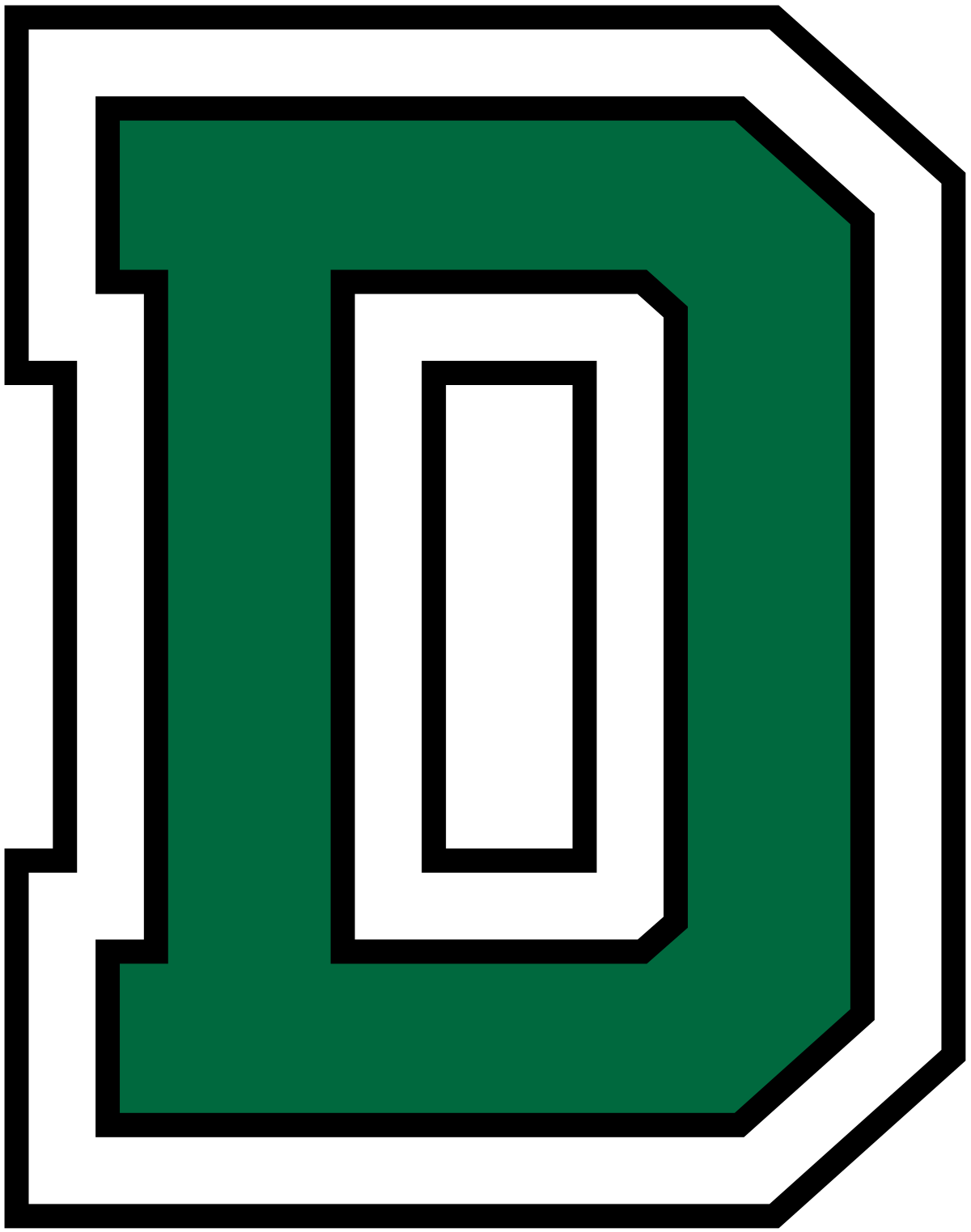 Mark clipart big green. Dartmouth women s ice