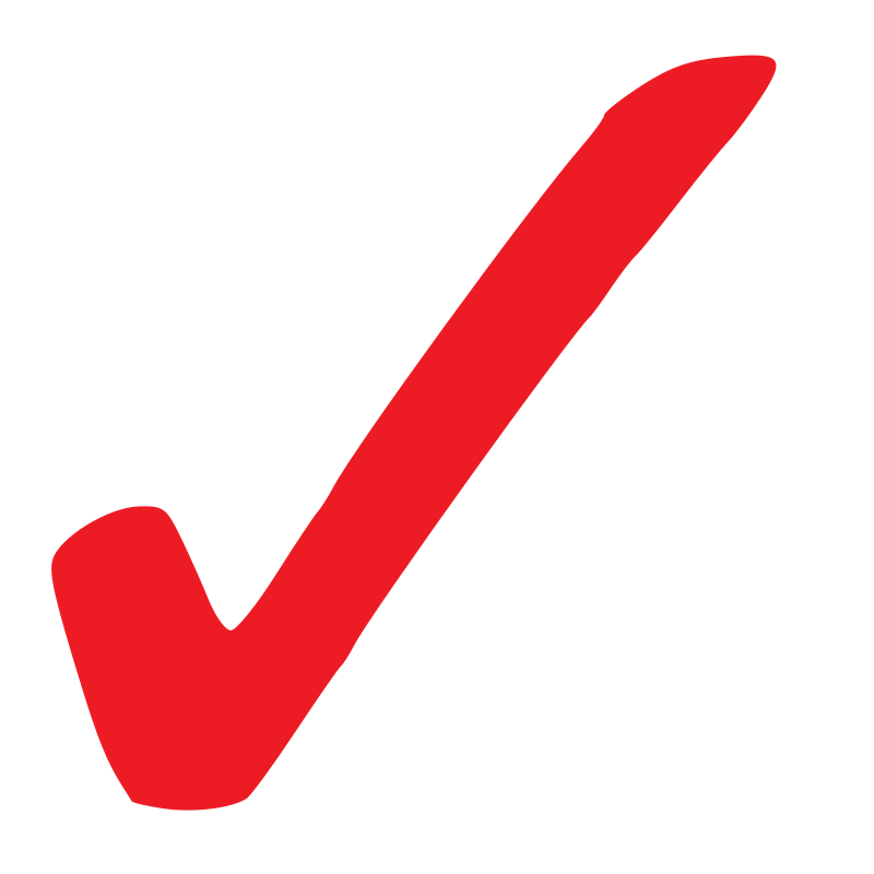 check mark transparent png